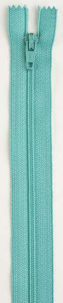 All-Purpose Polyester Coil Zipper 22in Dark Turquoise