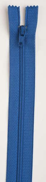All-Purpose Polyester Coil Zipper 22in Pilot Blue