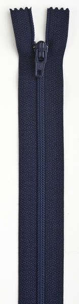 All-Purpose Polyester Coil Zipper 24in Navy