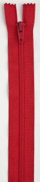 All-Purpose Polyester Coil Zipper 7in Atom Red