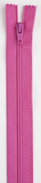 All-Purpose Polyester Coil Zipper 7in Dark Rose