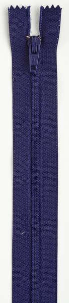 All-Purpose Polyester Coil Zipper 7in Deep Purple