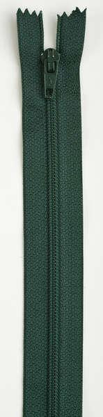 All-Purpose Polyester Coil Zipper 7in Forest Green