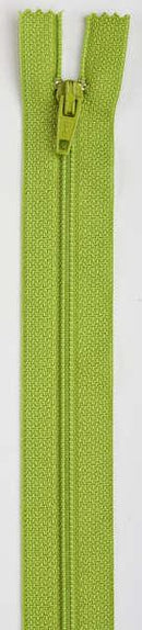 All-Purpose Polyester Coil Zipper 7in Kiwi