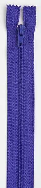 All-Purpose Polyester Coil Zipper 7in Light Purple