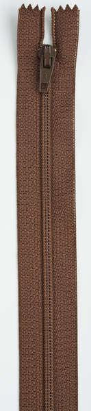 All-Purpose Polyester Coil Zipper 7in London Tan