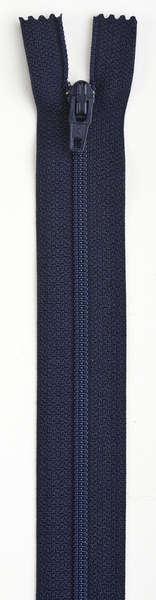 All-Purpose Polyester Coil Zipper 7in Navy