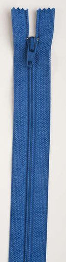 All-Purpose Polyester Coil Zipper 9in Pilot Blue