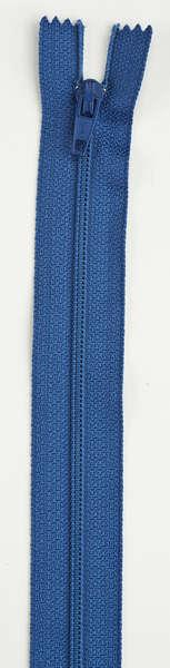 All-Purpose Polyester Coil Zipper 9in Soldier Blue