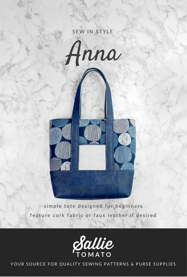 Anna Bag Pattern LST136