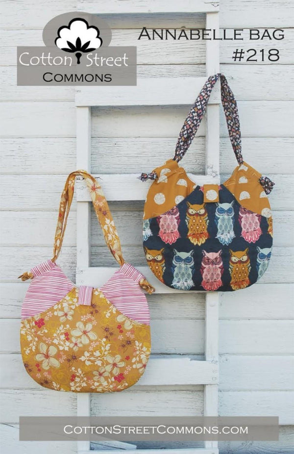 Annabelle Bag Pattern CSC218