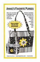 Annie's Favorite Purses Pattern PBA106