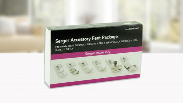 BabyLock Serger Accessory 6 Foot Pack - BLES4 / BLE3ATW-2 / BLE3ATW / BLE1AT-2  - BLE1AT-FEET