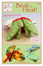Beat The Heat! Oven Mitts! Pattern VHD211