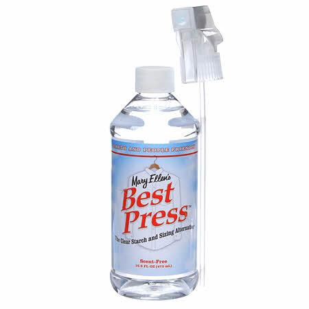 Best Press Spray Starch Scent Free 16oz - 60034