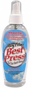 Best Press Spray Starch Scent Free 6oz - 80034M