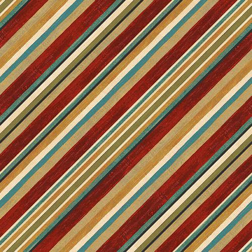 Biased Stripes 9970-88 Red