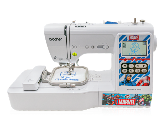 Brother LB5000M Sewing & Embroidery Machine - Marvel Edition