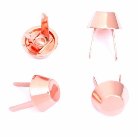 Bucket Bag Feet Rose Gold