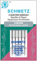 Chrome Quilting Schmetz Needle 5 ct, Size 75/11 - 4035