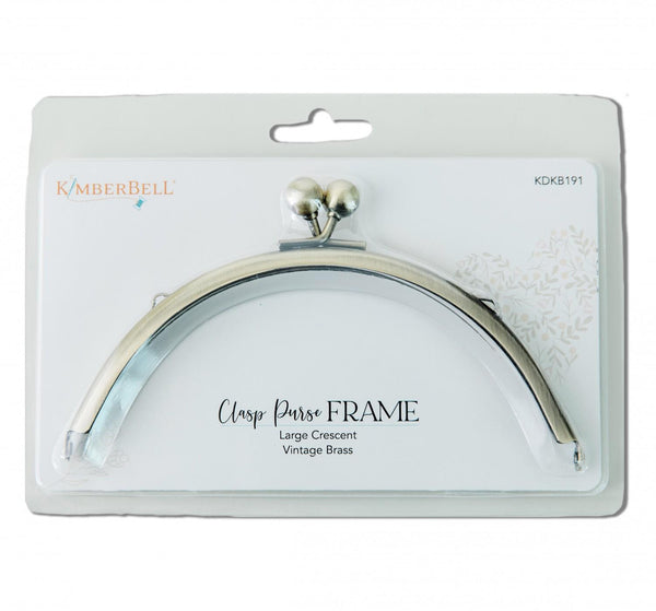 Kimberbell Clasp Purse Frame-Large Crescent KDKB191