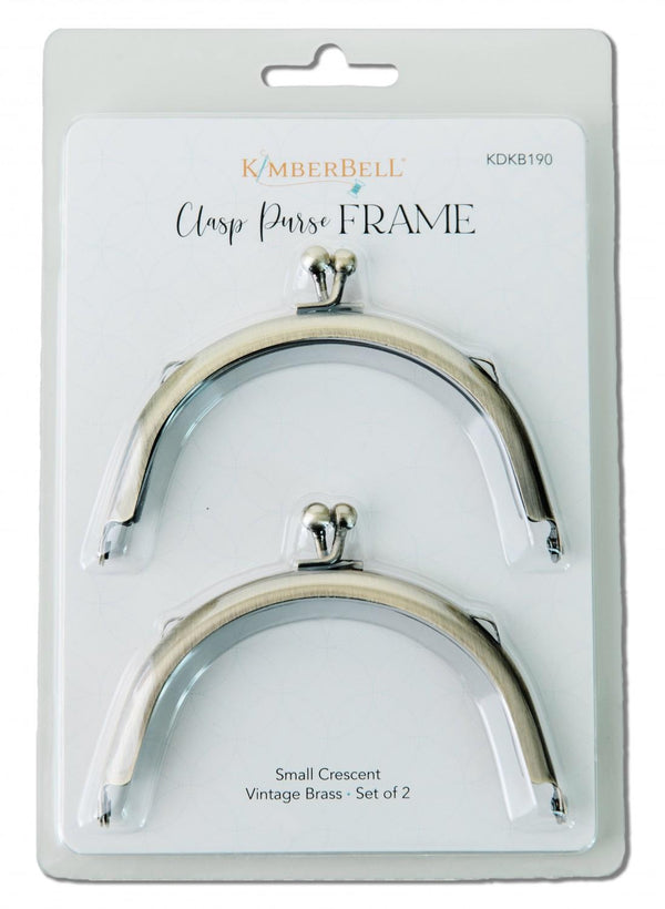 Kimberbell Clasp Purse Frame-Small Crescent KDKB190