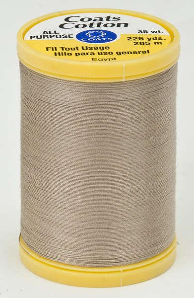 Coats Cotton Sewing Thread 225yds Dogwood - S9708530