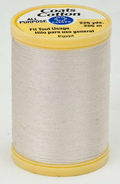 Coats Cotton Sewing Thread 225yds Natural - S9708010