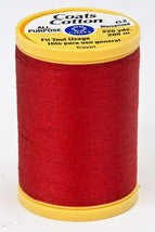 Coats Cotton Sewing Thread 225yds Red - S9702250