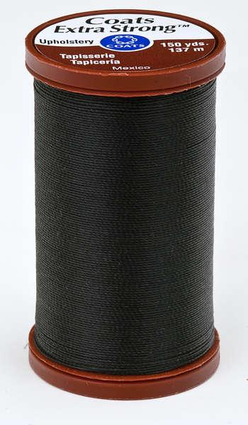 Coats Extra Strong & Uphol.Thread 150 yds Black - S9640900