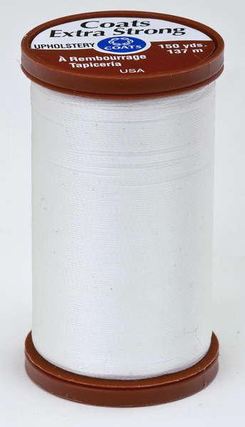 Coats Extra Strong & Uphol.Thread 150 yds White - S9640100