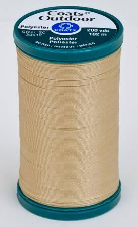 Coats Outdoor Poly 200yds Buff S9718050