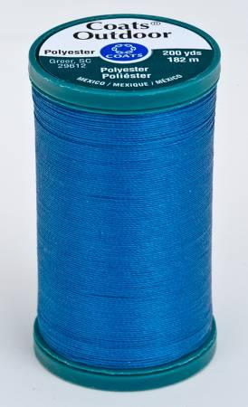 Coats Outdoor Poly 200yds Monaco Blue S9714270