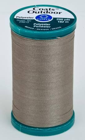 Coats Outdoor Poly 200yds Steel  S9710770