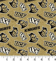 College Cotton-Central Florida Knights Tone On Tone UCF-1178