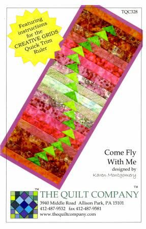 Come Fly With Me Pattern TQC328