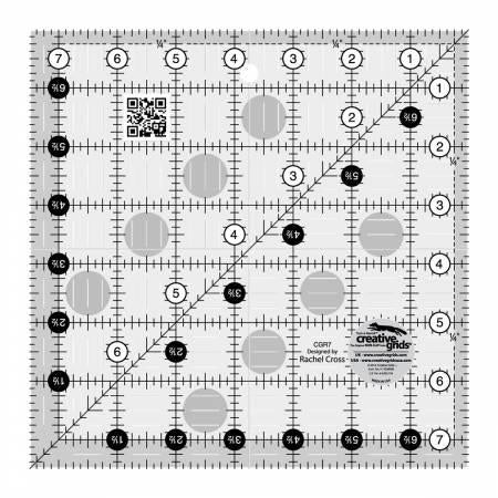 Creative Grids Quilting Ruler7 1/2in Square - CGR7