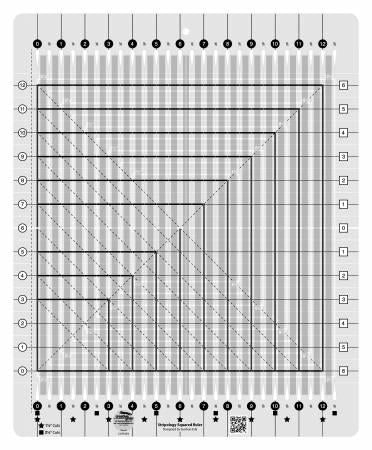 Creative Grids Stripology Squared Quilt Ruler - CGRGE2