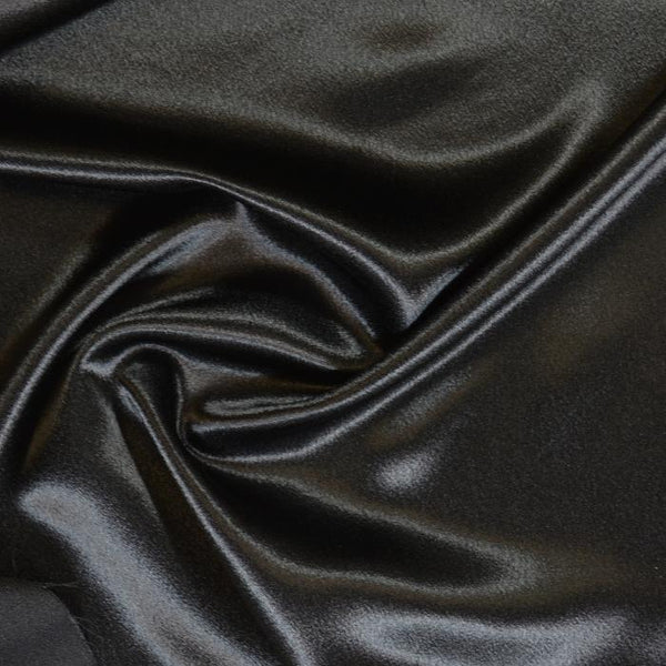 Crepe Back Satin Enchantment-Black