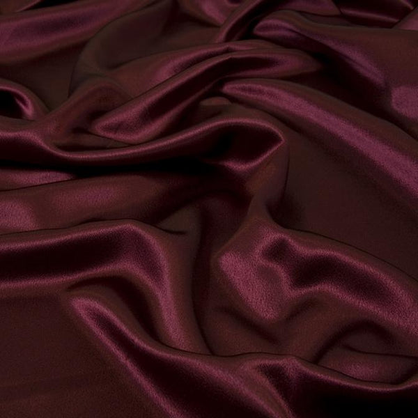Crepe Back Satin Enchantment-Cranberry