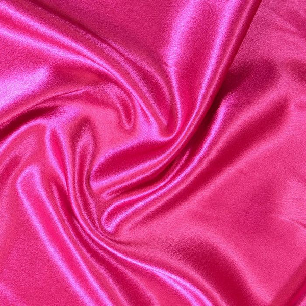 Crepe Back Satin Enchantment-Fuschia