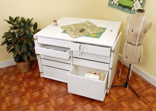 Dingo White Ash Kangaroo Sewing Cabinet