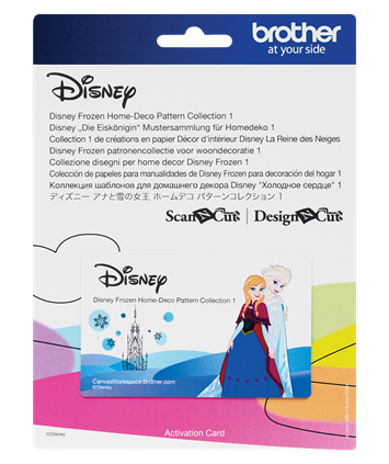 Disney Frozen Home-Deco Pattern,  Collection 1 CADSNP04