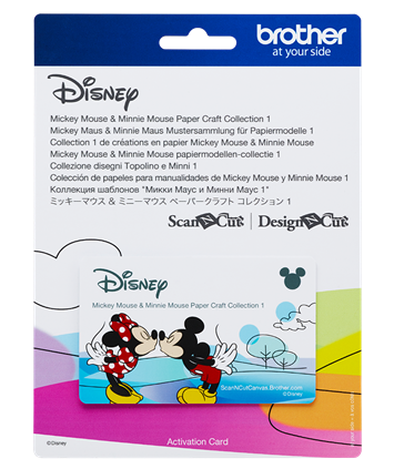 Disney Mickey & Minnie Mouse  Collection 1 CADSNP01