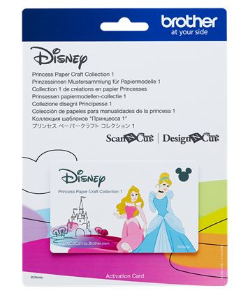 Disney Princess Paper Craft Collection 1 CADSNP02