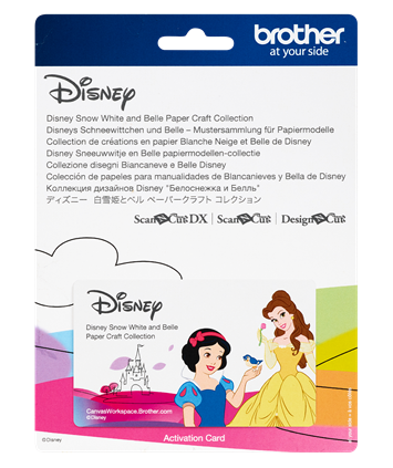 Disney, Snow White & BellePaper Craft  Collection CADSNP06