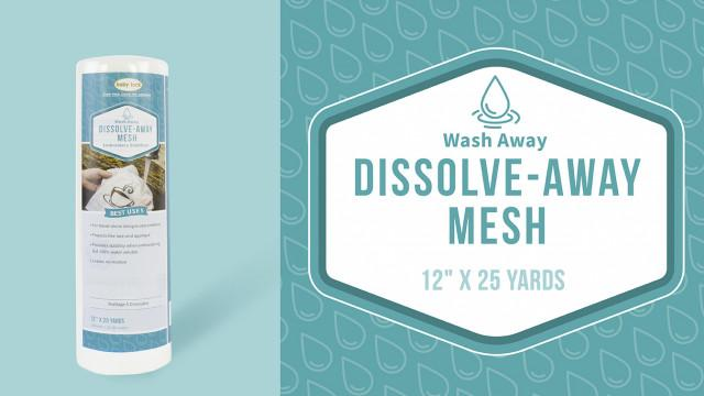 Dissolve-Away Mesh Backing - BLS500