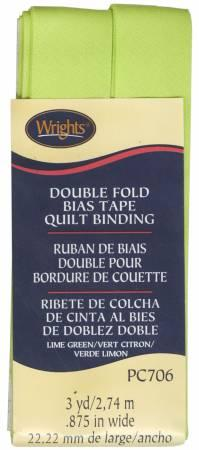 Double Fold Quilt Binding Lime Green - 117706628