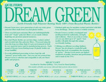 Dream Green King 122x122 GK