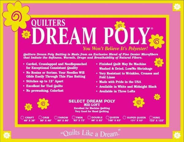 Dream Poly Select Twin 93x72 P4TN